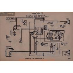 Lincoln 6volt Schema Electrique 1920 1921 Delco