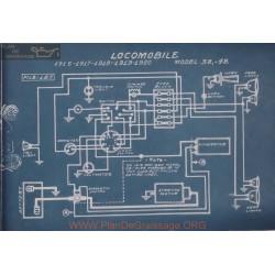 Locomobile 38 48 Schema Electrique 1916 1917 1918 1919 1920