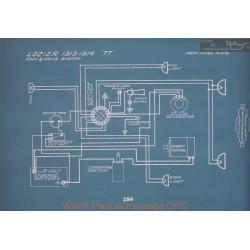 Lozier 77 Schema Electrique 1913 1914 V2