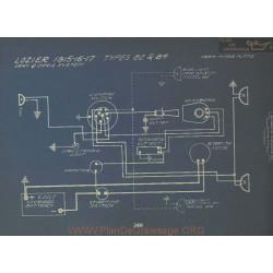 Lozier 82 84 Schema Electrique 1915 1916 1917 Gray & Davis
