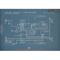 Lozier 82 84 Schema Electrique 1915 1916 1917 V2