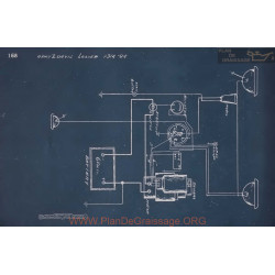 Lozier 84 Schema Electrique 1914