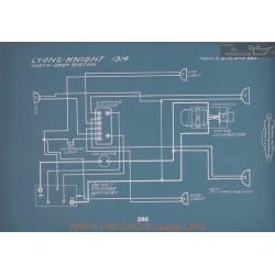 Lyons Knight Schema Electrique 1914 V2