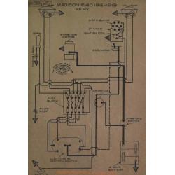 Madison 6 40 Schema Electrique 1918 1919 Remy V5