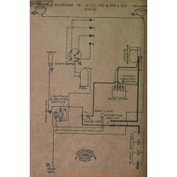 Maibohm A 4 Cyl Schema Electrique 1917 1918 1919 Disco