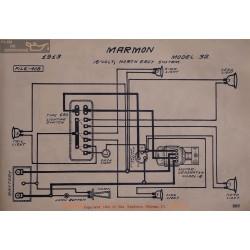 Marmon 32 16volt Schema Electrique 1913 North East