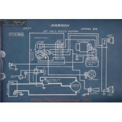 Marmon 34 12volt Schema Electrique 1917 Bosch