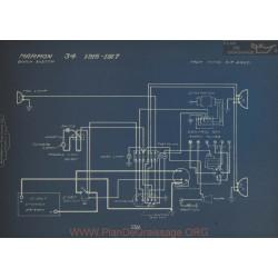 Marmon 34 Schema Electrique 1916 1917 V3
