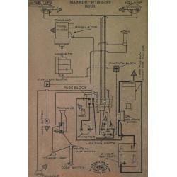 Marmon 34 Schema Electrique 1918 1919 Bijur