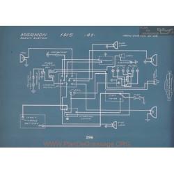 Marmon 41 Schema Electrique 1915 V2