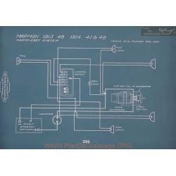 Marmon 48 41 48 Schema Electrique 1913 1914