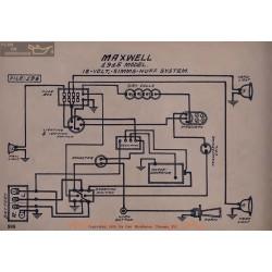 Maxwell 12volt Schema Electrique 1915 Simms Huff V2