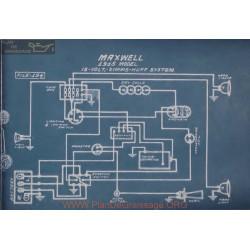 Maxwell 12volt Schema Electrique 1915 Simms Huff
