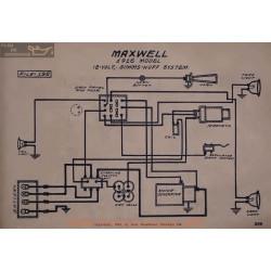 Maxwell 12volt Schema Electrique 1916 Simms Huff V2