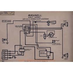 Maxwell 12volt Schema Electrique 1917 Simms Huff V2