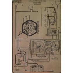 Maxwell 25 All Model Schema Electrique 1917 Simms Huff