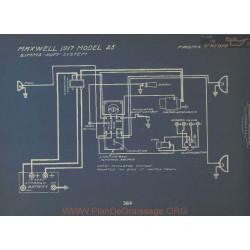 Maxwell 25 Schema Electrique 1917 Simms Huff