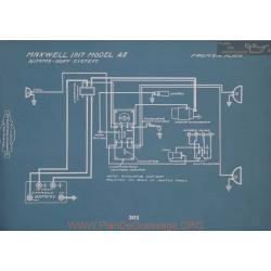 Maxwell 25 Schema Electrique 1917 V2