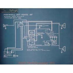 Maxwell 25 Schema Electrique 1917