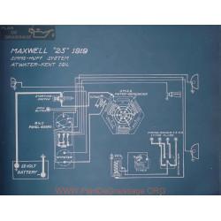 Maxwell 25 Schema Electrique 1919