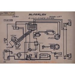 Mc Farlan 127 6volt Schema Electrique 1920 Dyneto