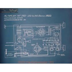 Mc Farlan 150 160 Schema Electrique 1922