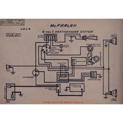 Mc Farlan 6volt Schema Electrique 1916 Westinghouse