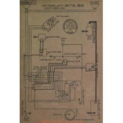Mc Farlan Schema Electrique 1917 1918 Westinghouse