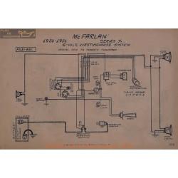 Mc Farlan X 6volt Schema Electrique 1920 1921 Westinghouse
