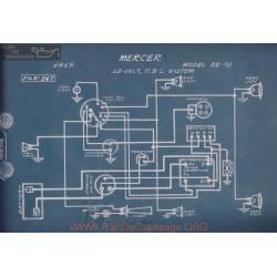 Mercer 22 70 12volt Schema Electrique 1915 Usl V5