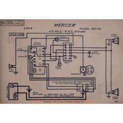 Mercer 22 70 12volt Schema Electrique 1916 Usl