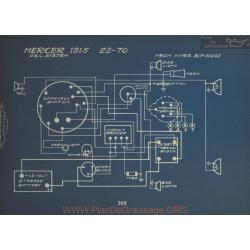 Mercer 22 70 Schema Elctrique 1915 Usl