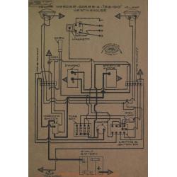 Mercer 4 Schema Electrique 1918 1919 Westinghouse