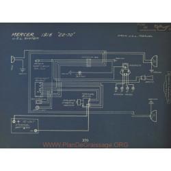 Mercer 22 70 Schema Electrique 1916 Usl