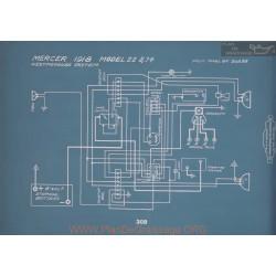 Mercer 22 74 Schema Electrique 1918