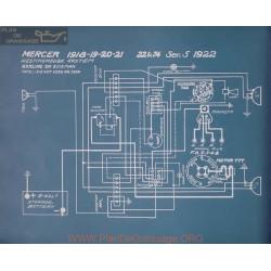 Mercer 22 74 Ser5 Schema Electrique 1922