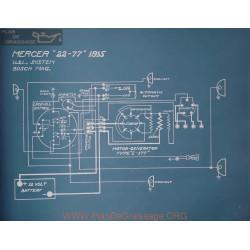 Mercer 22 77 Schema Electrique 1915