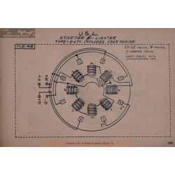 Mercer E117 Schema Electrique 1915 Usl
