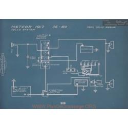 Meteor 75 80 Schema Electrique 1917 V2