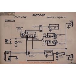Meteor 75a 80a Schema Electrique 1917 1918 V2