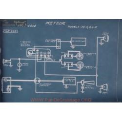 Meteor 75a 80a Schema Electrique 1917 1918