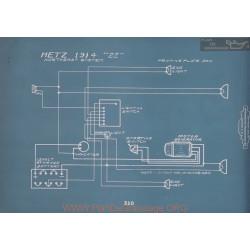 Metz 22 Schema Electrique 1914 V2