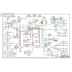 Mg Mgb Diagram10 Schema Electrique 1970 1971