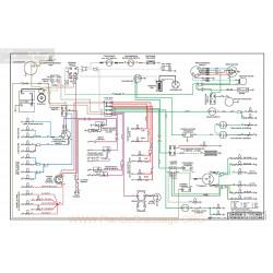 Mg Mgb Diagram12 Schema Electrique 1971 1972