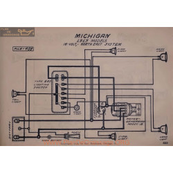 Michigan 16volt Schema Electrique 1913 North East