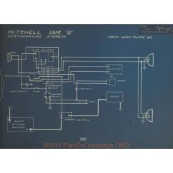 Mitchell 8 Schema Electrique 1916 Westinghouse