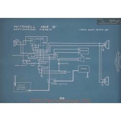 Mitchell 8 Schema Electrique 1916