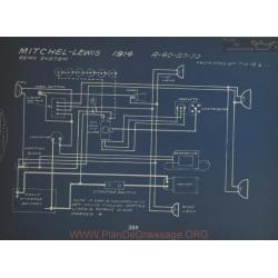 Mitchell A40 A50 A70 Schema Electrique 1914 Remy