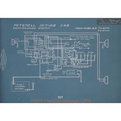 Mitchell C42 Schema Electrique 1917 1918 V2