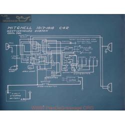 Mitchell C42 Schema Electrique 1917 1918